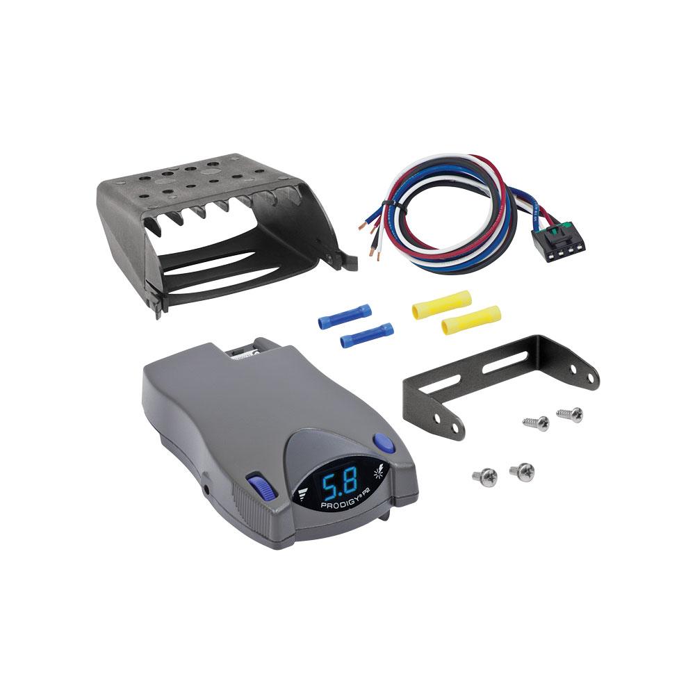 hight resolution of tekonsha prodigy p2 electric brake controller control module trailer brakes towing kit box system truck car