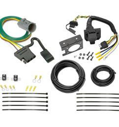 95 01 ford explorer 98 99 ranger 7 way rv trailer wiring kit plug prong pin harness [ 1000 x 1000 Pixel ]