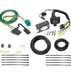 96 03 chevy express gmc savana 7 way rv trailer wiring kit plug prong pin harness [ 1000 x 1000 Pixel ]
