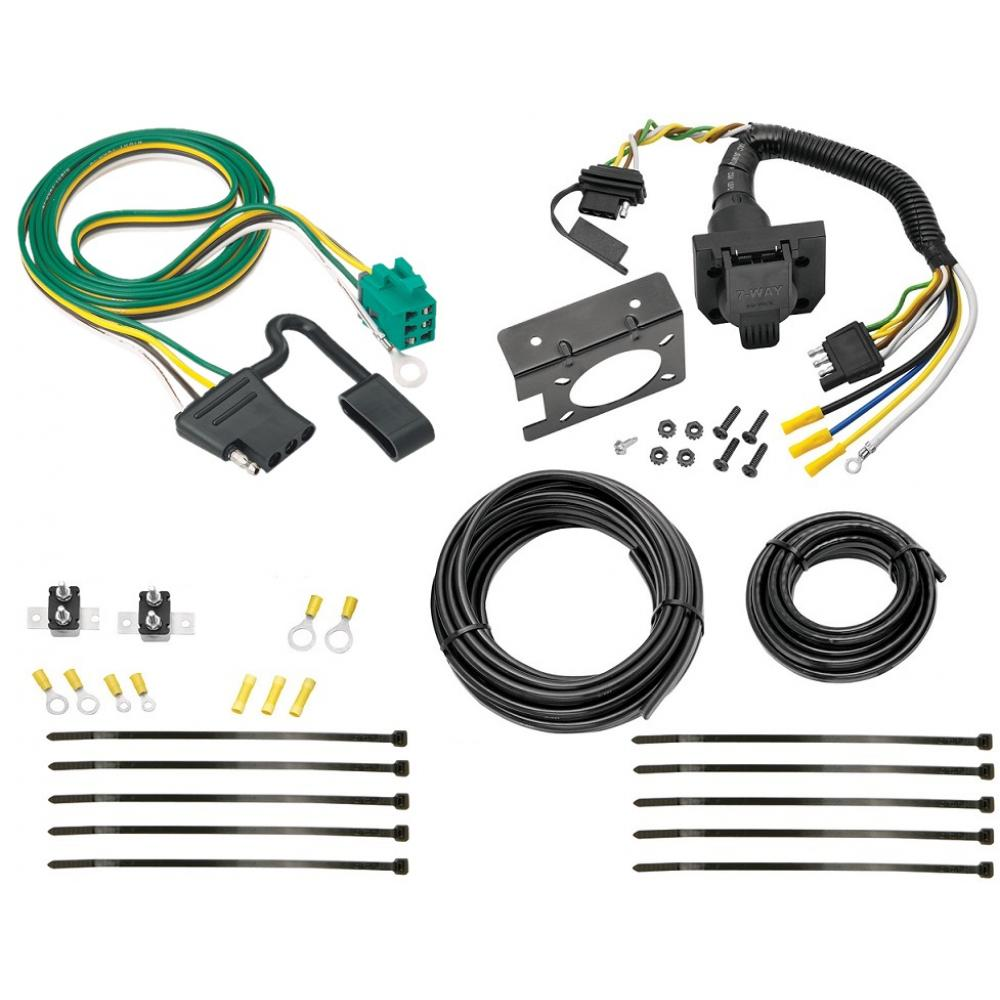 hight resolution of 96 03 chevy express gmc savana 7 way rv trailer wiring kit plug prong pin harness