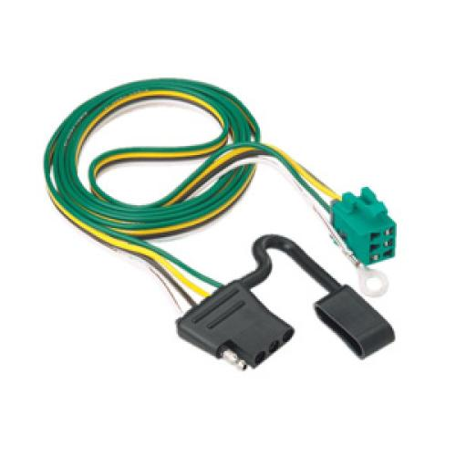 small resolution of trailer wiring harness kit for 96 03 chevy express gmc savana 1500 2500 3500 w factory
