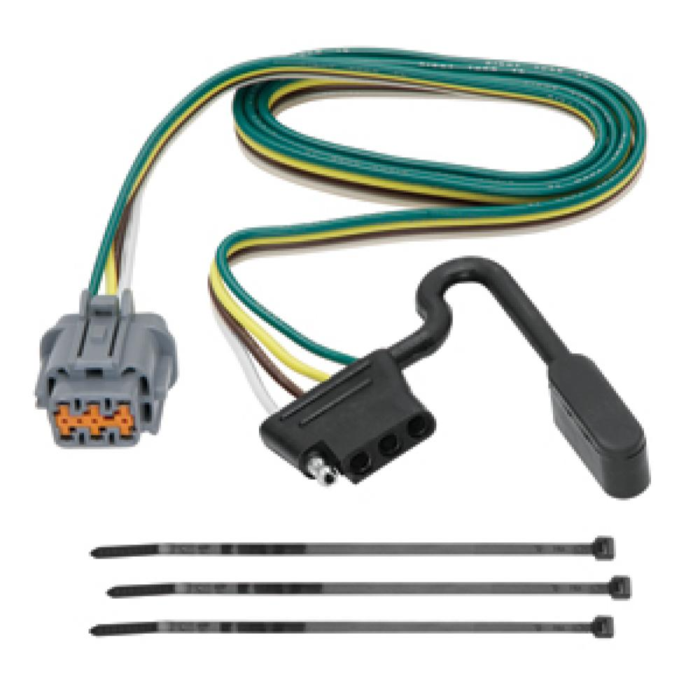 hight resolution of trailer wiring harness kit for 05 17 nissan frontier 05 07 pathfinder 05 15 xterra
