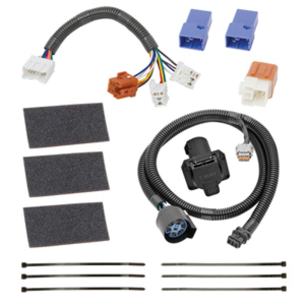hight resolution of 7 way rv trailer wiring harness kit for 05 18 nissan frontier 05 12 pathfinder