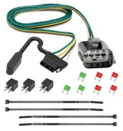 trailer wiring harness kit for 2018 traverse limited 13 17 chevy traverse buick enclave gmc acadia [ 1000 x 1000 Pixel ]