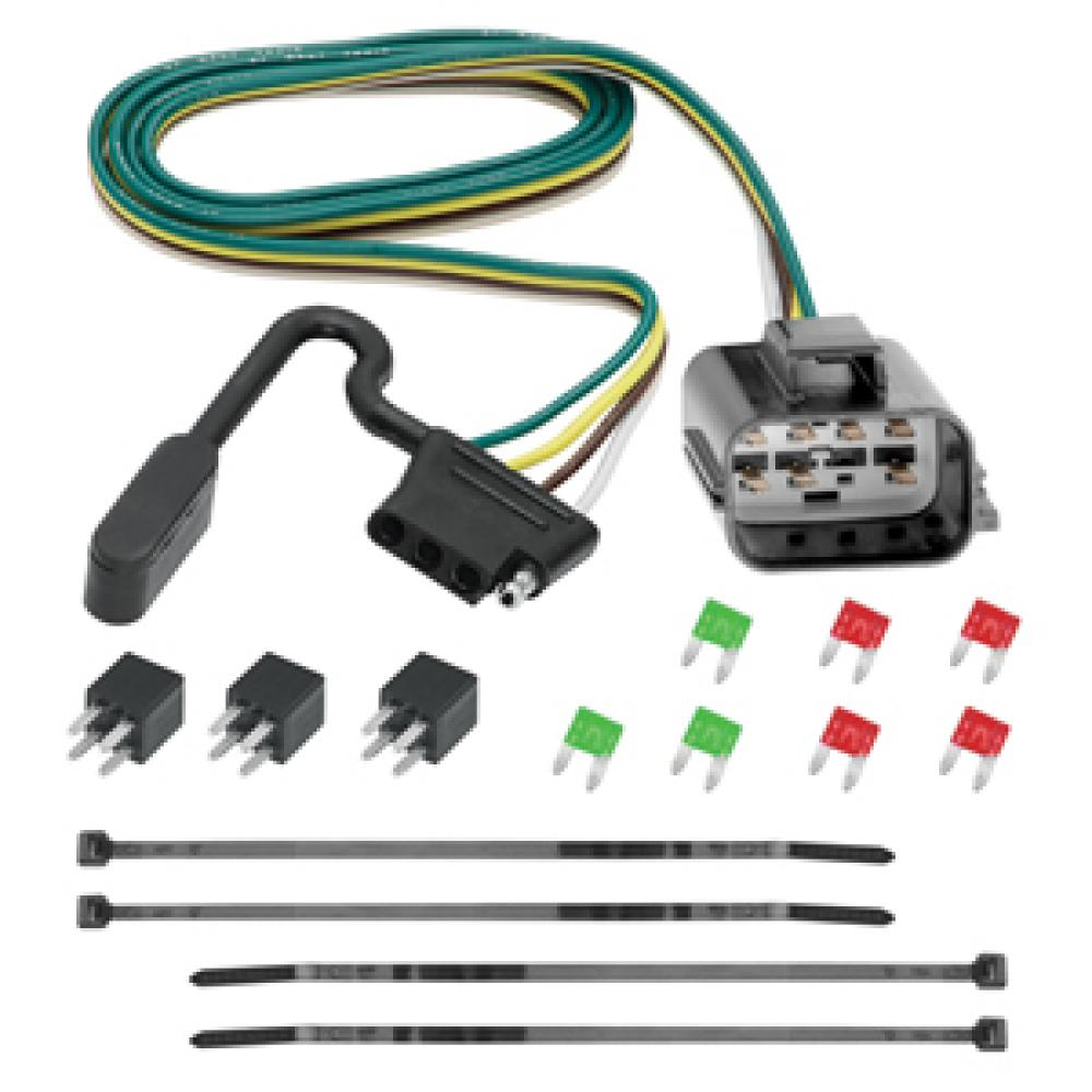 hight resolution of trailer wiring harness kit for 2018 traverse limited 13 17 chevy traverse buick enclave gmc acadia