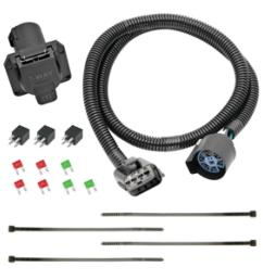 7 way rv trailer wiring harness kit for 2018 traverse limited 13 17 chevy traverse buick enclave  [ 1000 x 1000 Pixel ]