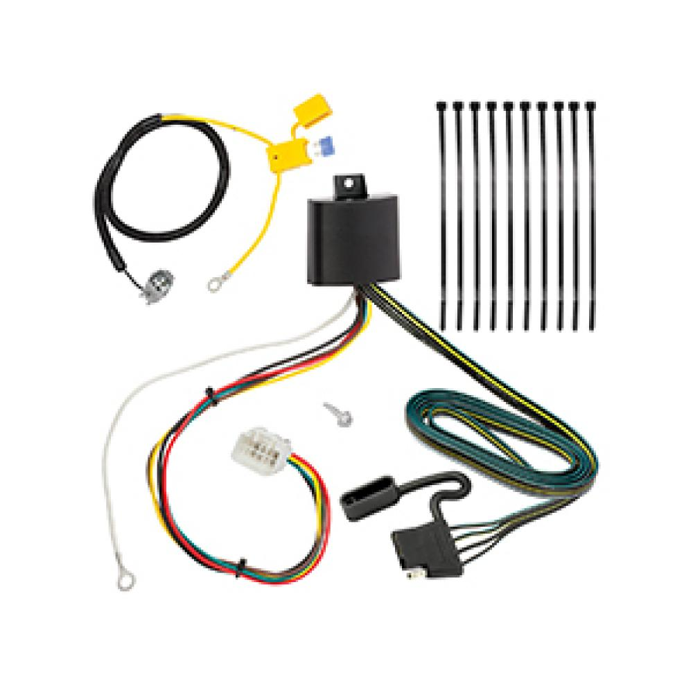 hight resolution of trailer wiring harness kit for 16 18 mitsubishi outlander except 2015 mitsubishi outlander trailer wiring harness mitsubishi trailer wiring harness