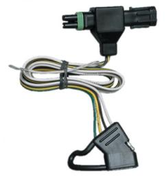 trailer wiring harness kit for 85 91 chevy blazer suburban gmc jimmy c k pickup  [ 1000 x 1000 Pixel ]