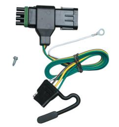 trailer wiring harness kit for 88 00 chevy gmc c k 1500 2500 3500 trailer wiring chevy k2500 [ 1000 x 1000 Pixel ]