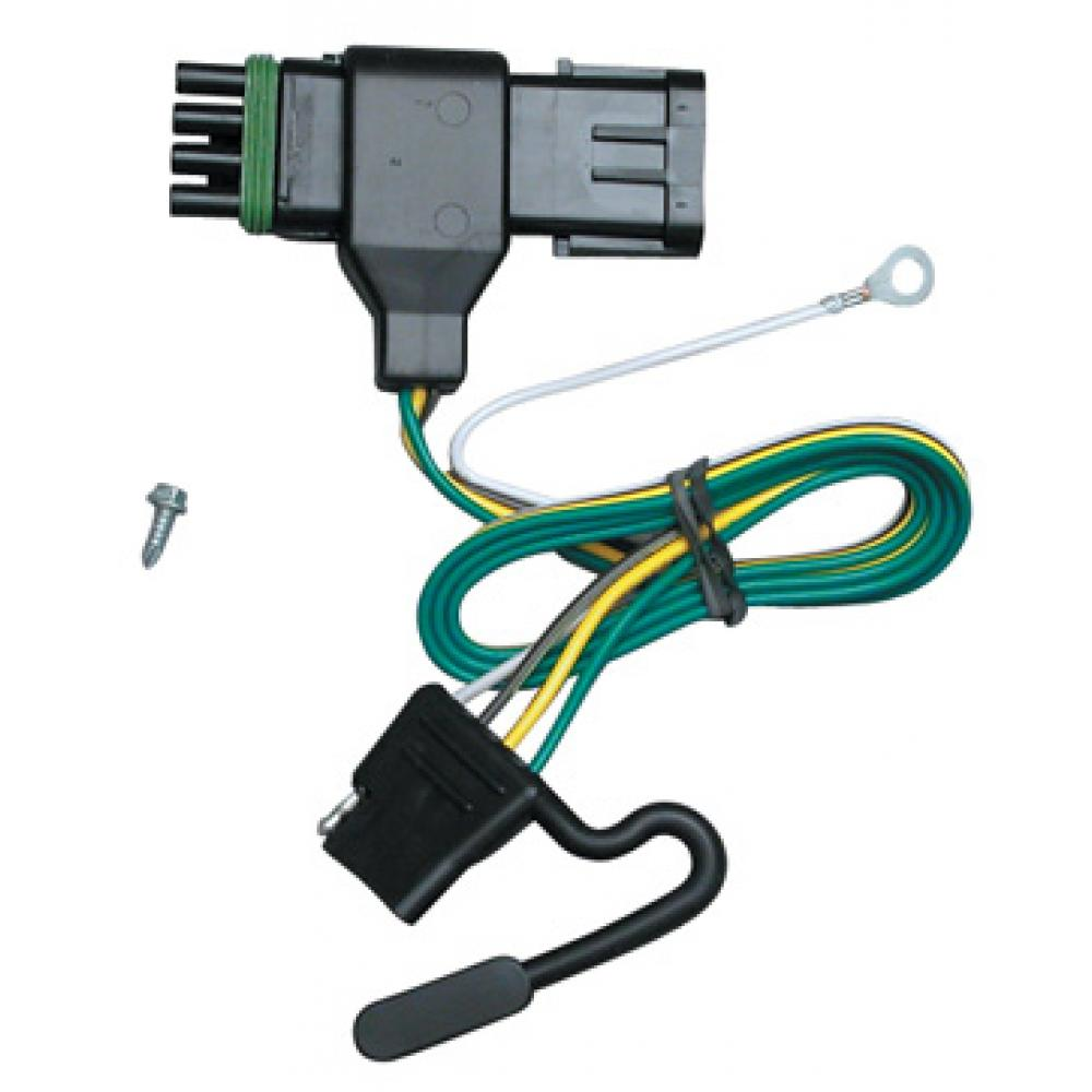 hight resolution of trailer wiring harness kit for 88 00 chevy gmc c k 1500 2500 3500 trailer wiring chevy k2500