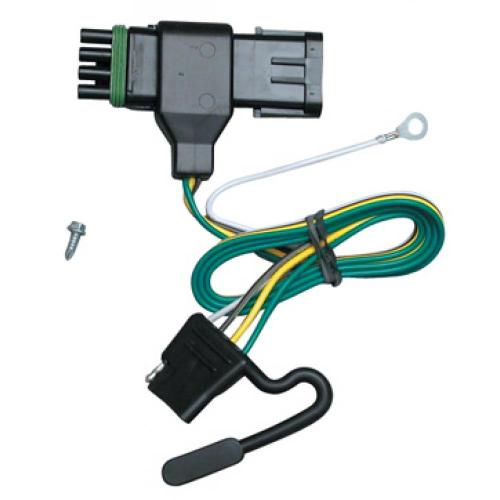 small resolution of trailer wiring harness kit for 88 00 chevy gmc c k 1500 2500 3500 trailer wiring chevy k2500