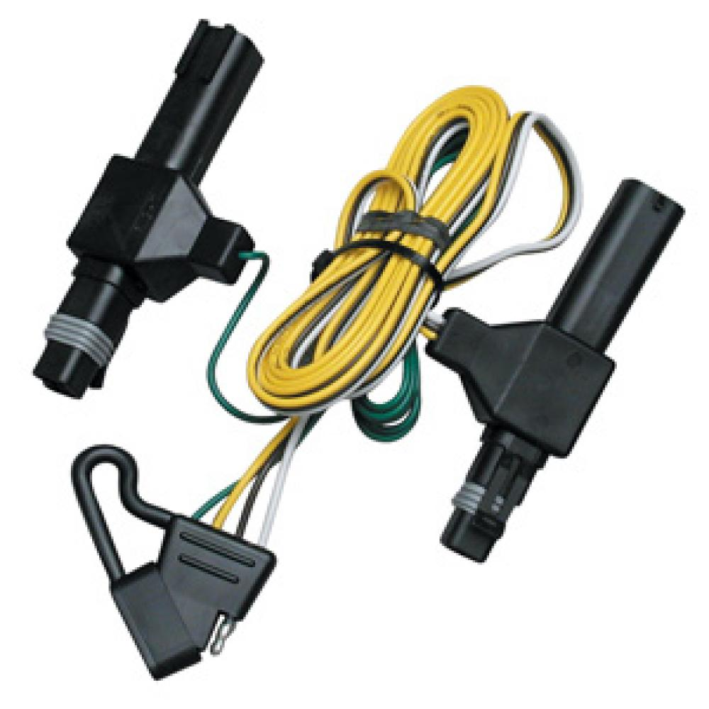 hight resolution of trailer wiring harness kit for 86 93 dodge d w 150 250 350 ramcharger dakota
