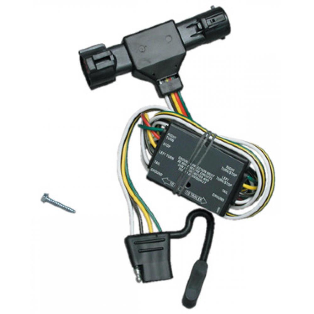 hight resolution of trailer wiring harness kit for 93 99 ford ranger 94 09 mazda b2300 1993 ford ranger trailer wiring harness