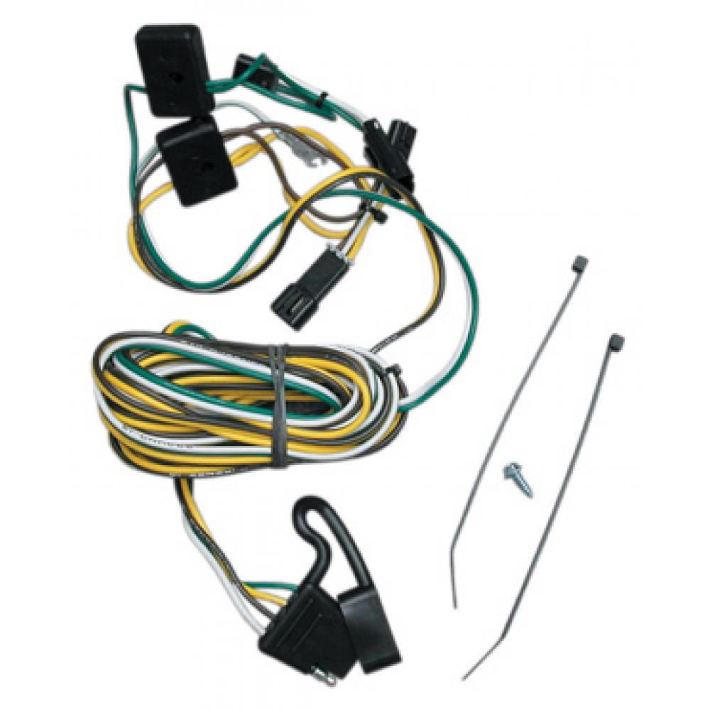 hight resolution of trailer wiring harness kit for 87 95 chevy g10 g20 g30 gmc g1500 g2500 g3500 van