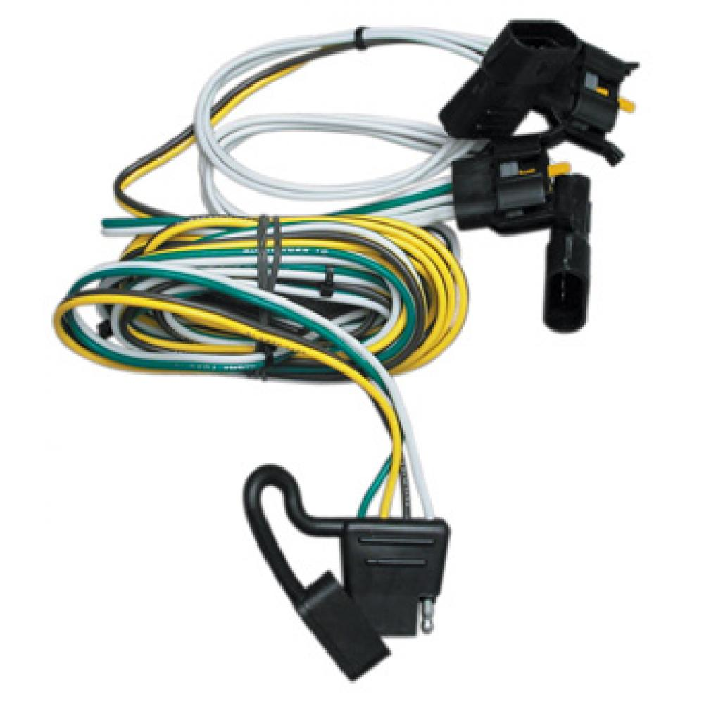 hight resolution of trailer wiring harness kit for 00 03 ford ranger 95 02 van 97 03 f 150