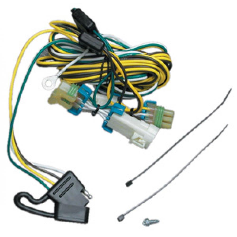 hight resolution of trailer wiring harness kit for 02 07 buick rendezvous 01 05 pontiac aztek