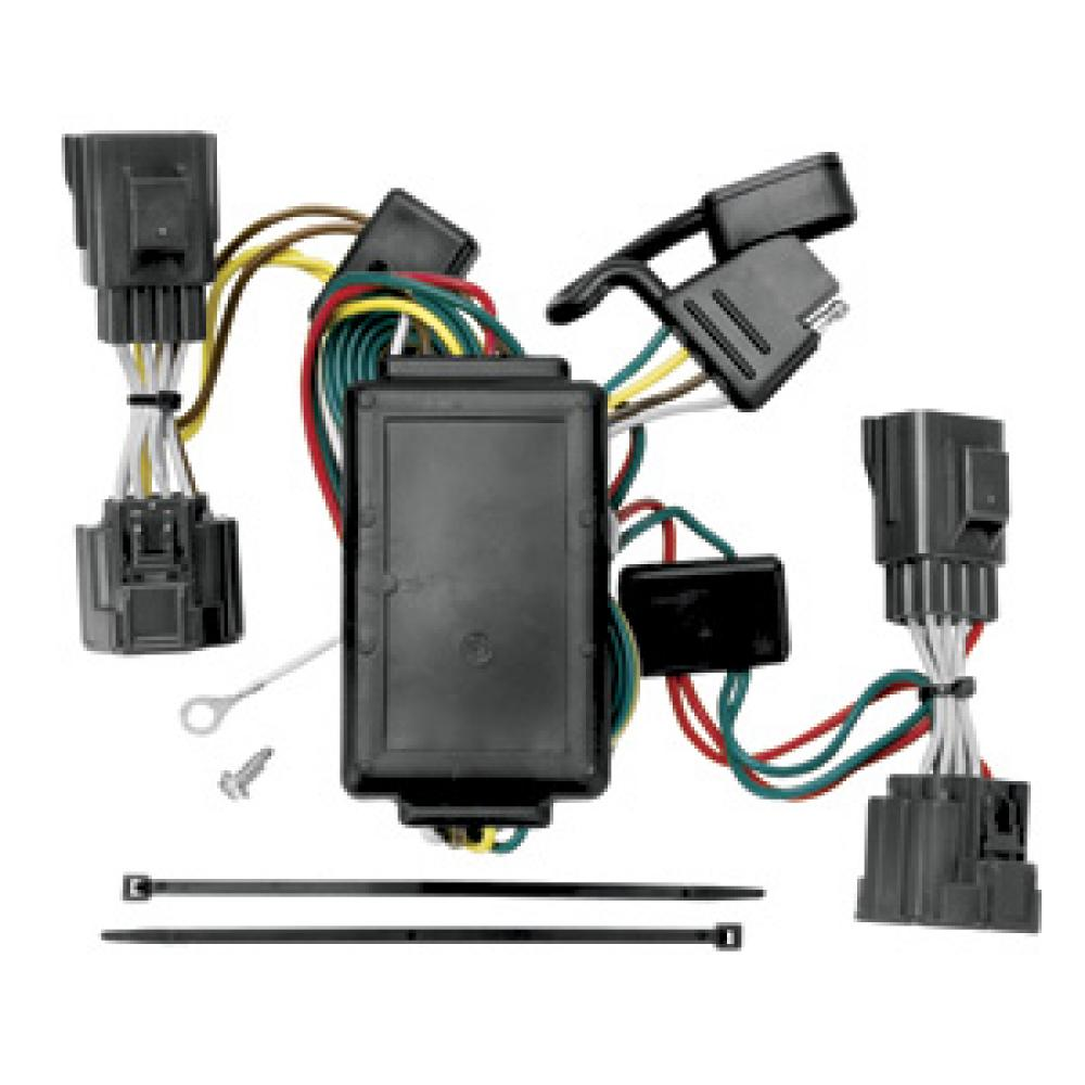 medium resolution of trailer wiring harness kit for 06 10 jeep commander all styles tow wiring harness jeep commander