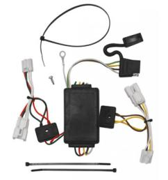 trailer wiring harness kit for 07 12 hyundai santa fe 10 13 kia forte 4 dr sedan [ 1000 x 1000 Pixel ]