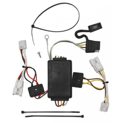 small resolution of trailer wiring harness kit for 07 12 hyundai santa fe 10 13 kia forte 4 dr sedan