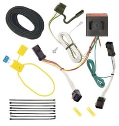 trailer wiring harness kit for 02 07 jeep liberty all styles jeep liberty trailer hitch receiver hitch ball and wiring harness [ 1000 x 1000 Pixel ]