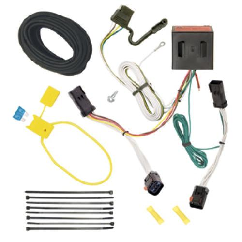 small resolution of trailer wiring harness kit for 02 07 jeep liberty all styles jeep liberty trailer hitch receiver hitch ball and wiring harness