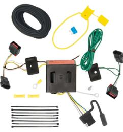 trailer wiring harness kit for 08 17 jeep patriot 08 10 chrysler town country dodge  [ 1000 x 1000 Pixel ]