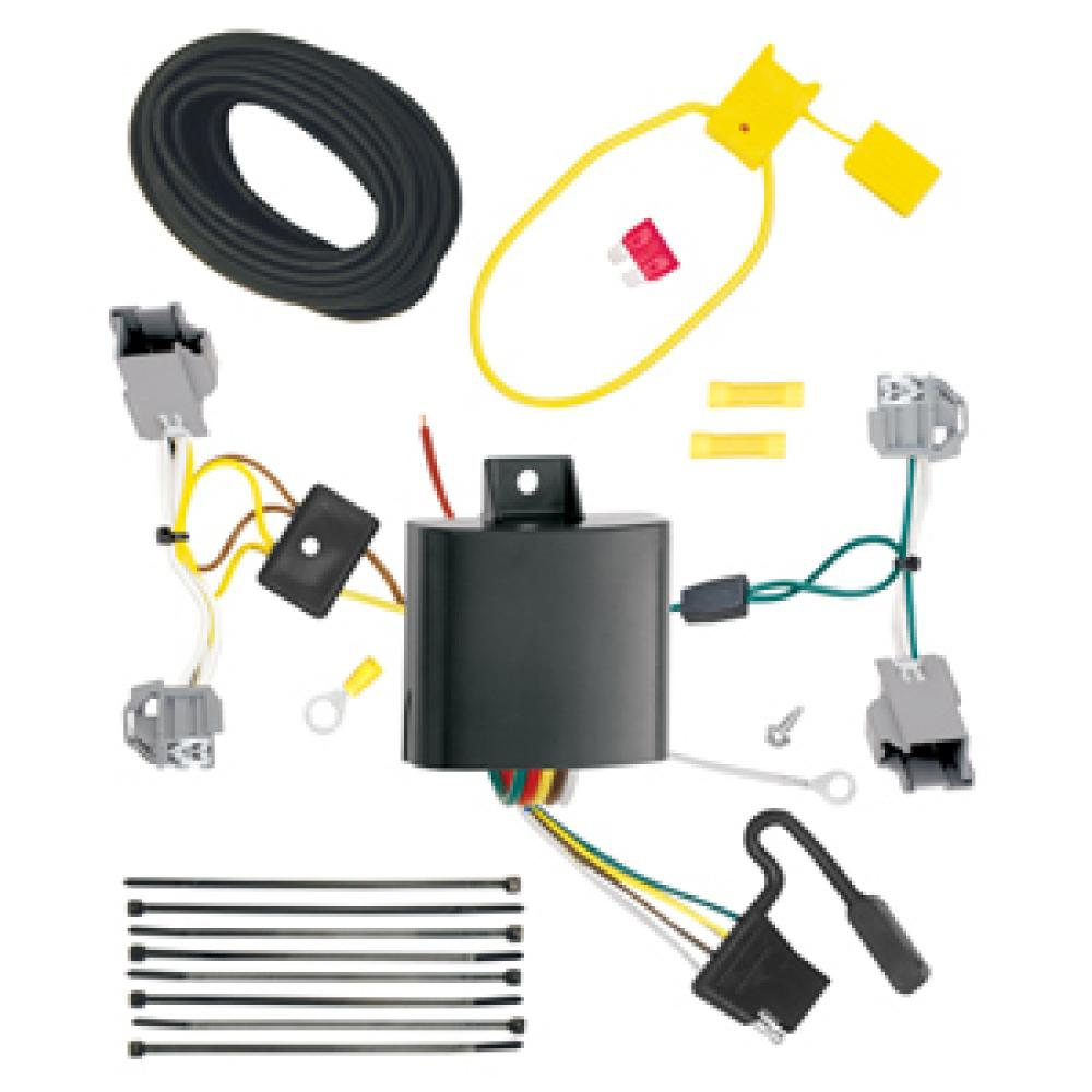 hight resolution of trailer wiring harness kit for 15 17 chrysler 200 4 dr sedan chrysler 200 trailer wiring