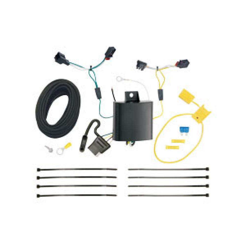 hight resolution of trailer wiring harness kit for 11 17 vw volkswagen touareg all styles touareg trailer wiring harness