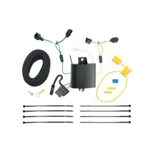 small resolution of trailer wiring harness kit for 11 17 vw volkswagen touareg all styles touareg trailer wiring harness