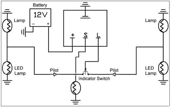 2 Pin Flasher Relay Wiring Diagram : 34 Wiring Diagram
