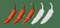 3 star spicy chilli flavour