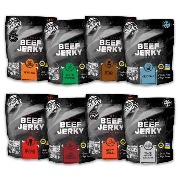 Selection Beef Jerky Range