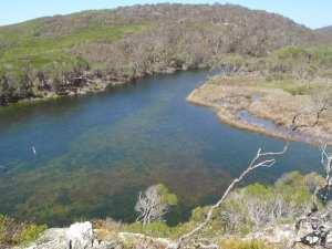 Bournda Lagoon lookout