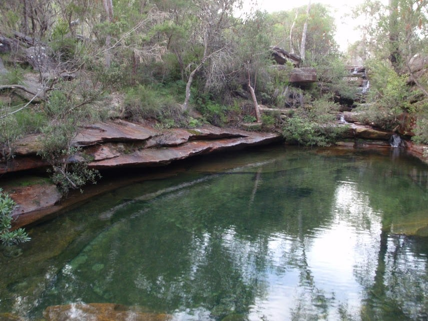 Emerald Pool circuit from Ironbark Rd