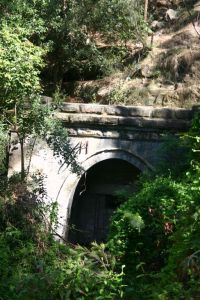 Lapstone train tunnel walk