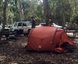 car camp hiking gear trail hiking australia