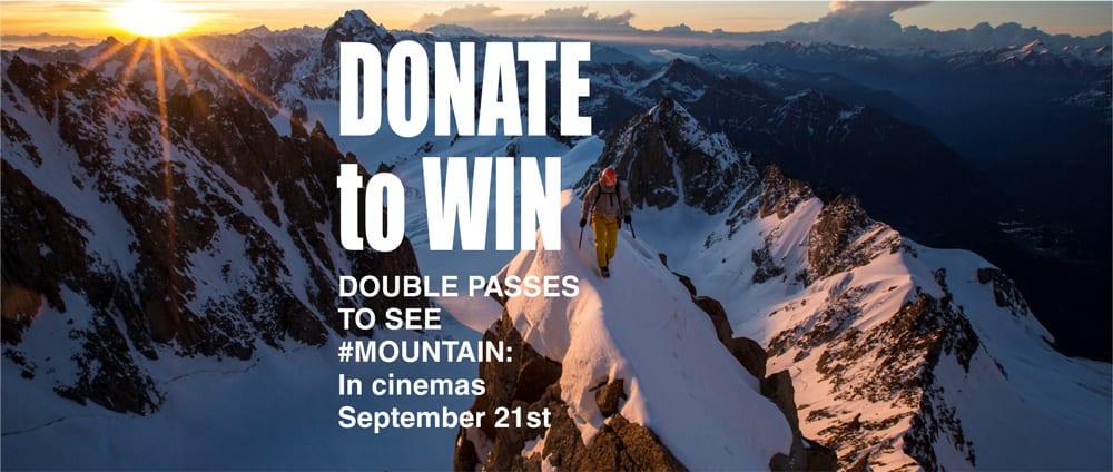 donate to win trail hiking australia