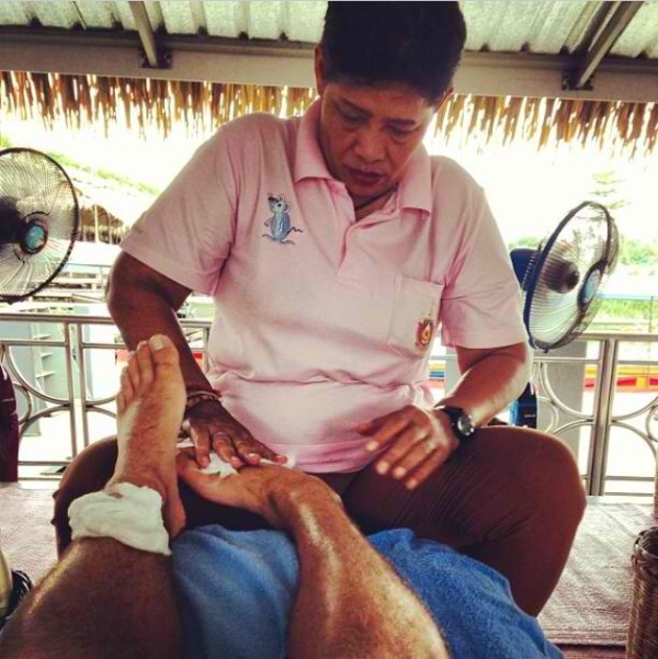 Taling Chan Floating Market Bangkok - Massage
