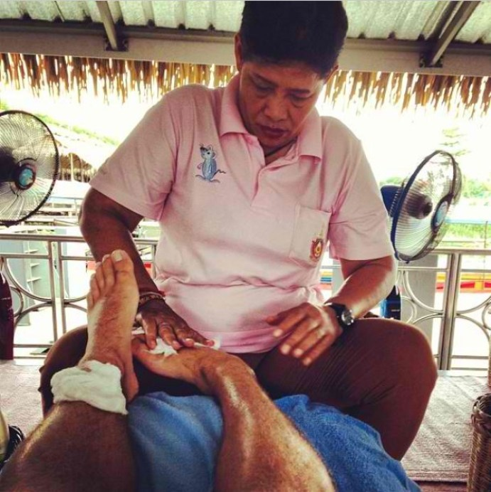 Taling Chan Floating Market Bangkok - Massage