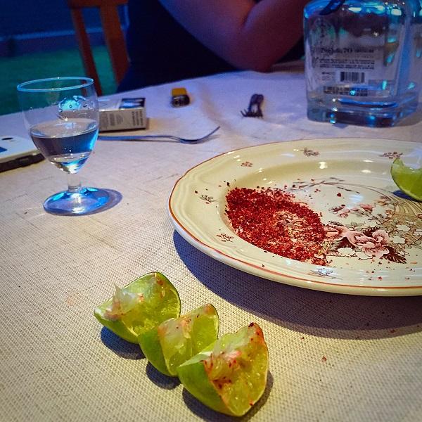 Celaya, Mexico - Tequila Shots