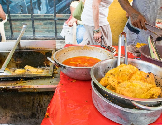 Street Food Tour Cartagena