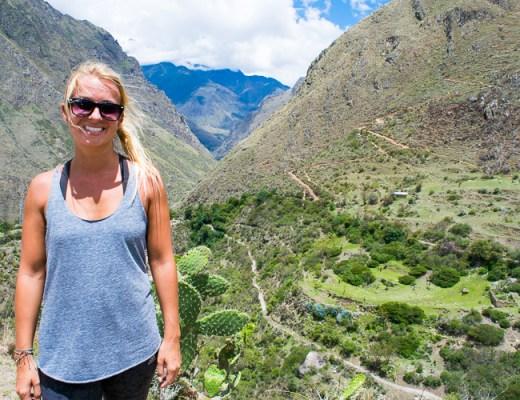Travel Stats - South America - Trailing Rachel