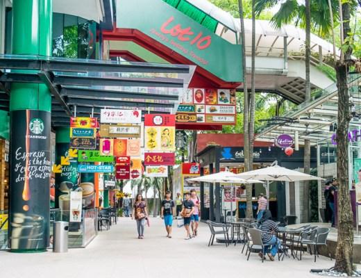 City Break Kuala Lumpur - Trailing Rachel