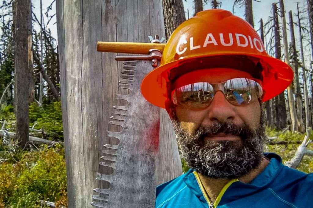 A photo of Crew Leader Claudio Berstein