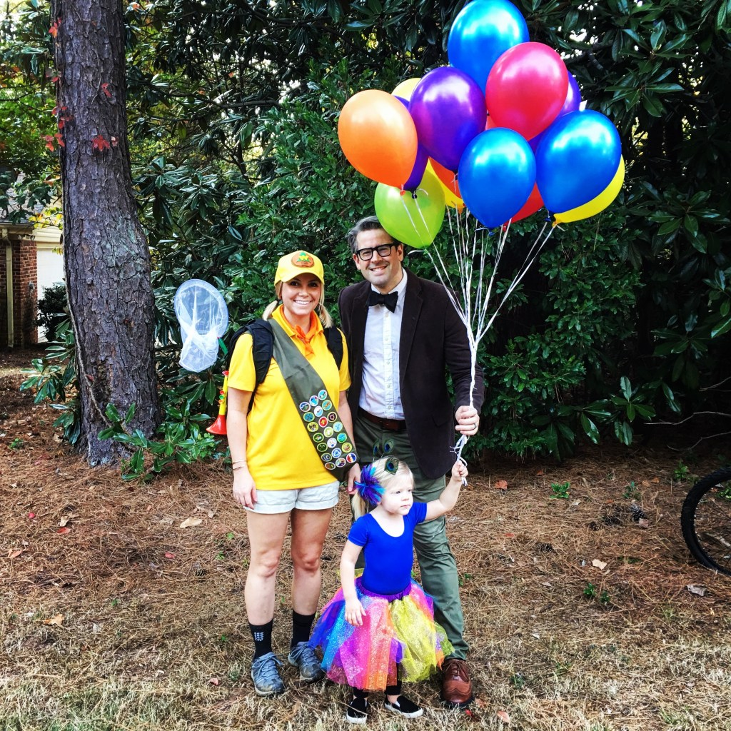 DIY UP Family Costume
