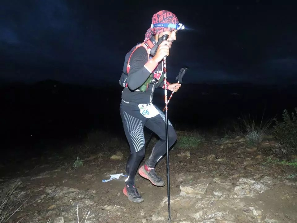 Las 100 millas del Genal en la noche