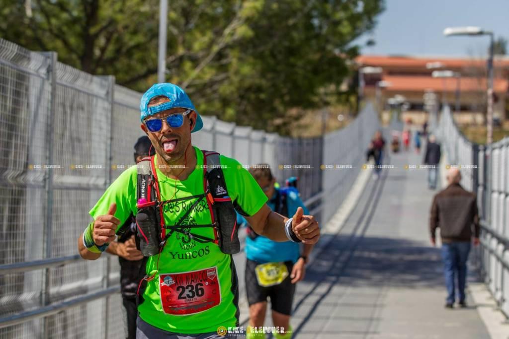 Último puente para llegar a la meta de la Maratón de Montaña de Cuenca