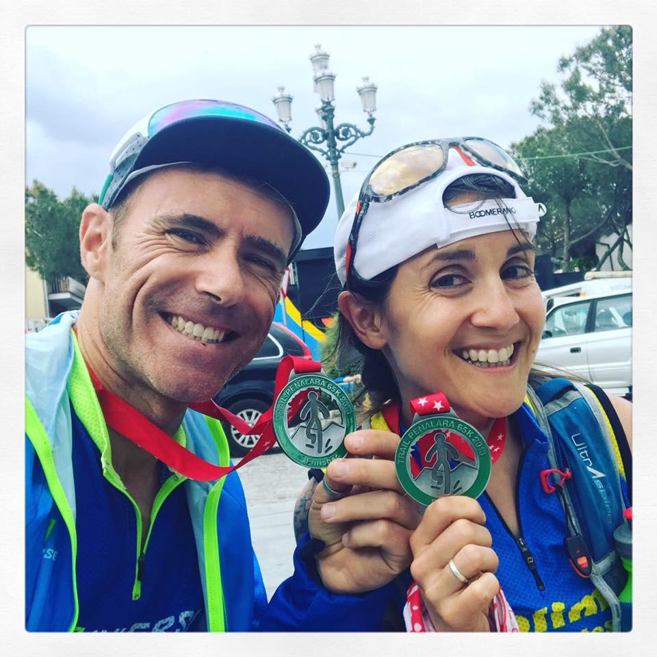 Pablo Castillo e Irene de Haro