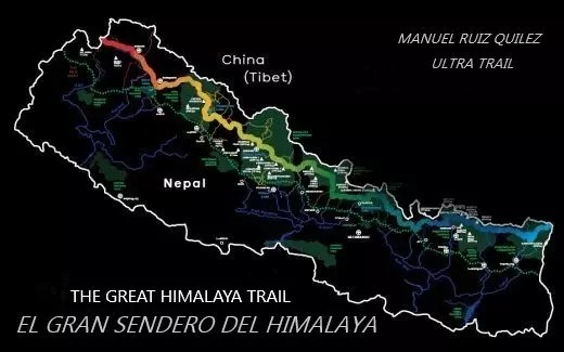 Etapas de El Gran Sendero Himalaya
