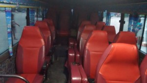 Land travel bus to DBP